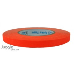 Gaffer Tape 1/2 inch - Fluor Orange Hula Hoops