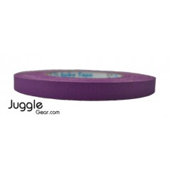 Gaffer Tape 1/2 inch - Purple Hula Hoops