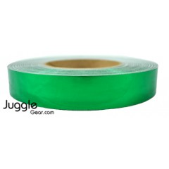 "Metallic Mirror Emerald Green (1"" x 150') Hula Hoops"