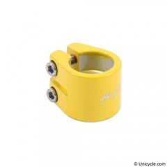 Kris Holm Seat Post Clamp 31.8mm - Yellow Seat Post Clamps