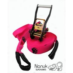Nanuk Trickline - 16m Pink Balance