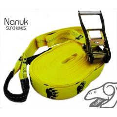 Nanuk Classic slackline - 26m Yellow Balance