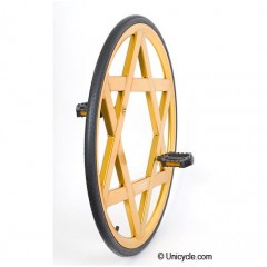 "Nimbus 28"" Aluminium Ultimate Wheel - Gold Ultimate & BC Wheels"