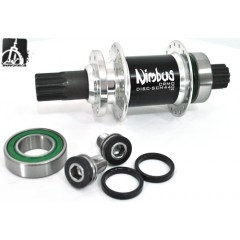 Nimbus Oracle Disc 36H ISIS Hub - 100mm Hubs & Bearings