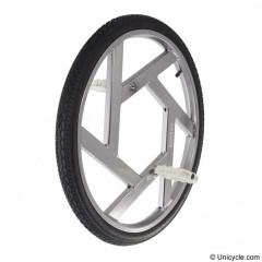 "Nimbus 24"" Ultimate Wheel - Silver Ultimate & BC Wheels"
