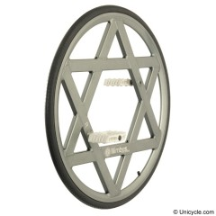 "Nimbus 28"" Ultimate Wheel - silver Ultimate & BC Wheels"