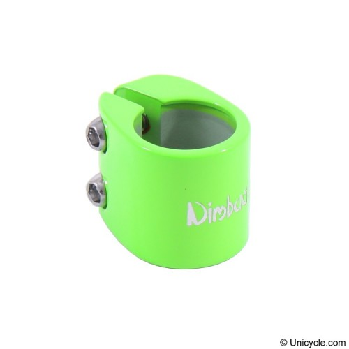 Nimbus Double Bolt Clamps 28.6mm Green Seat Post Clamps