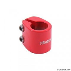 Nimbus Double Bolt Clamps 28.6mm Red Seat Post Clamps
