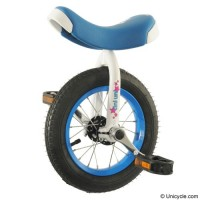 "12"" TiniUni Unicycle - Blue Learner"