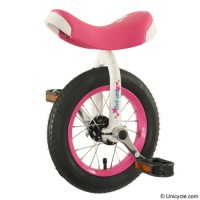 "12"" TiniUni Unicycle - Pink Learner"